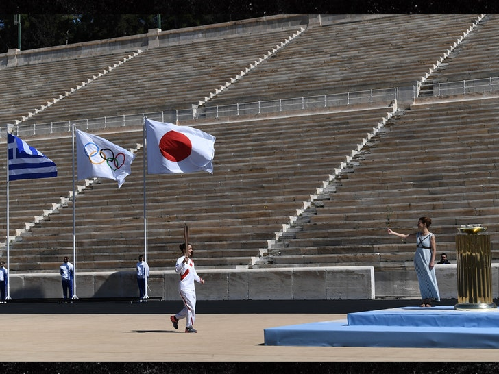 Olympic Torch Handover Ceremony Goes Down In Greece with No Fans - EpicNews