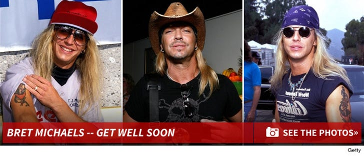Bret Michaels -- Through The Years