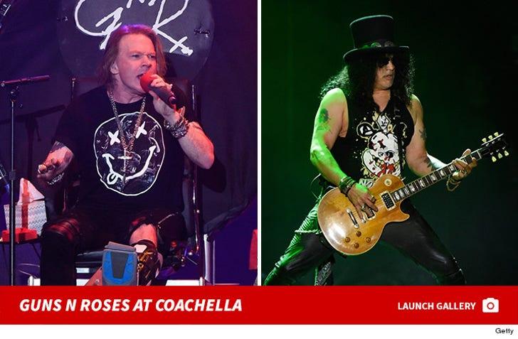 Guns N' Roses at Coachella