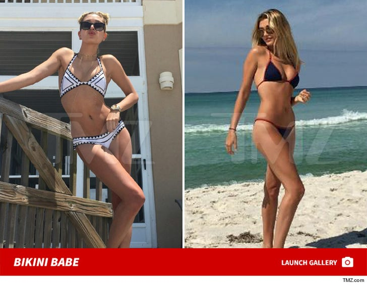 Hailey Baldwin -- Beach Babe