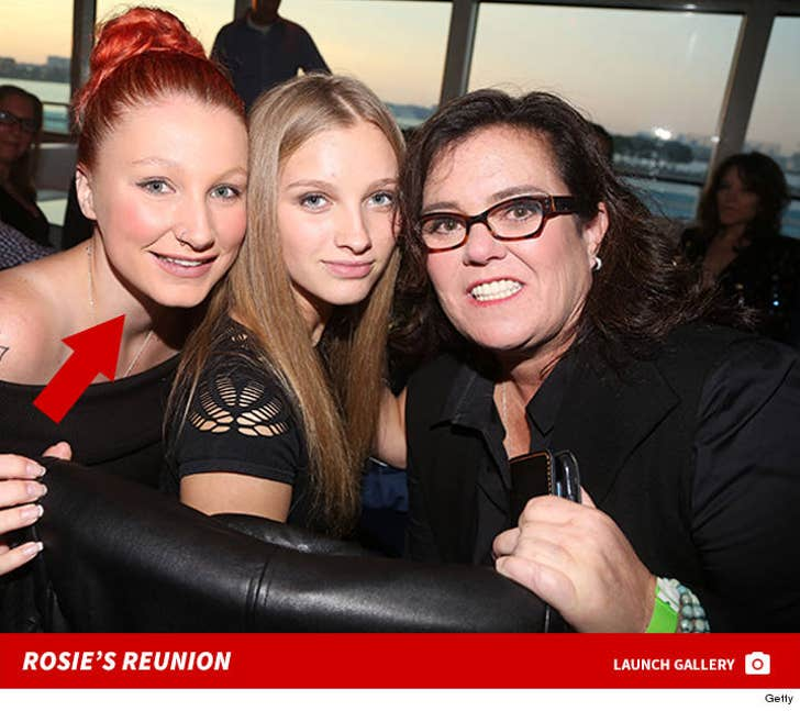 Rosie O'Donnell Reunited With Daughter Chelsea