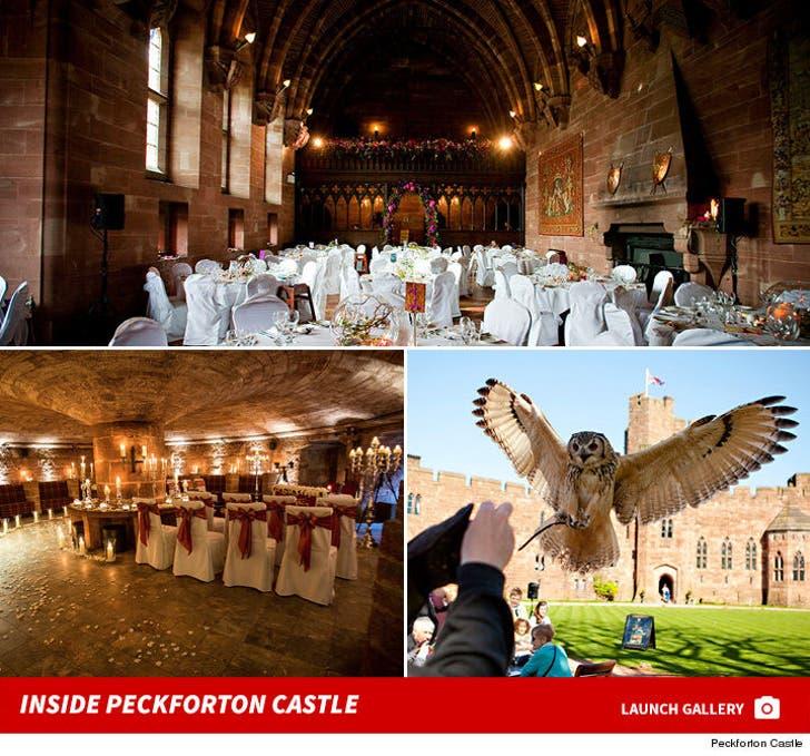 Inside Peckforton Castle