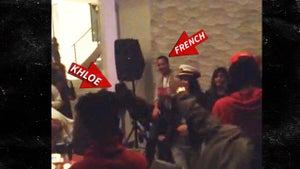 Khloe Kardashian -- CLEARLY Back with French Montana (VIDEO)