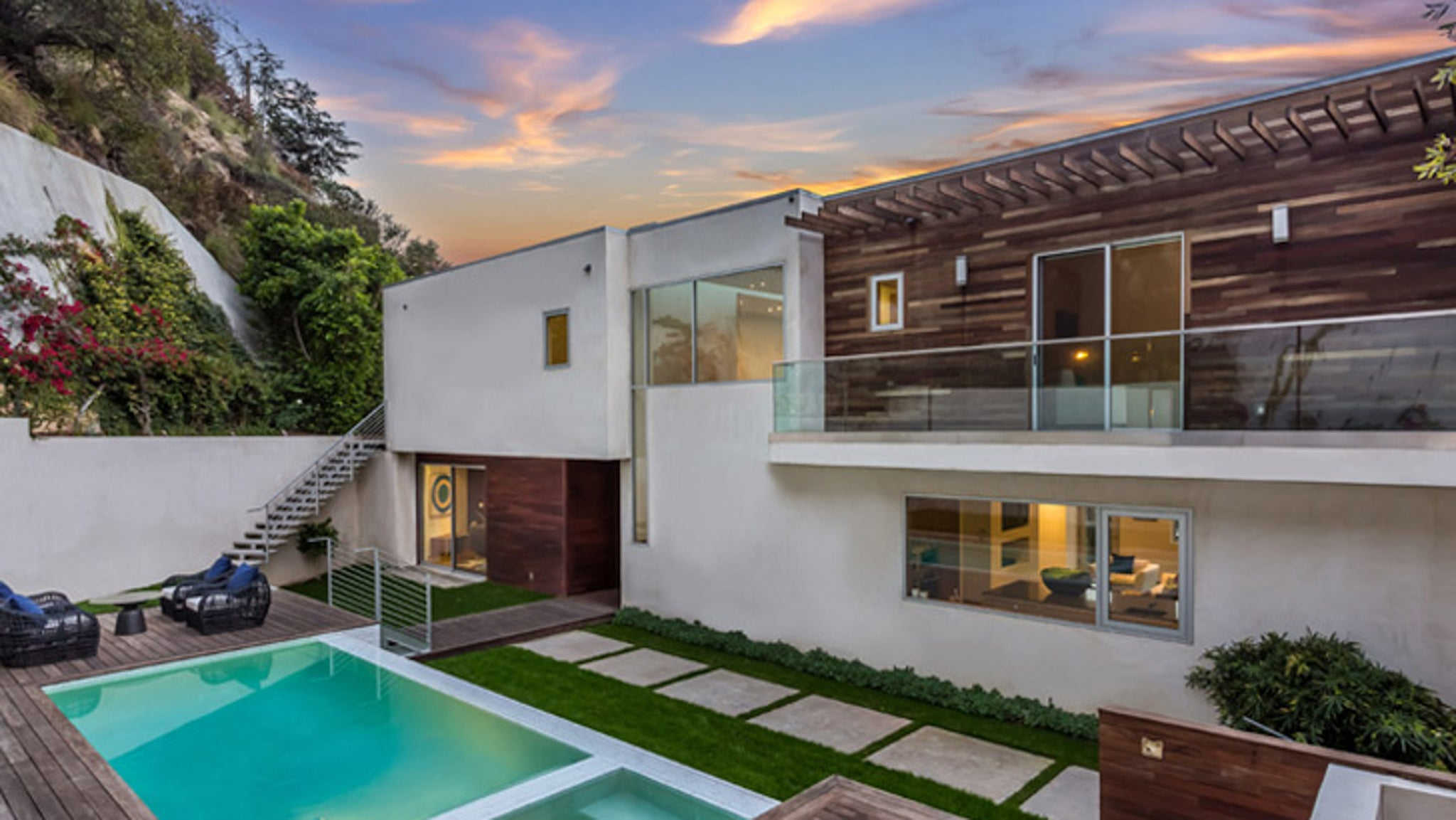 Hugh Hefner Home