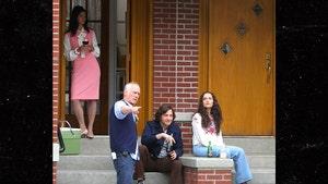 James Gandolfini's Son Michael Looks Groovy on Set of 'Sopranos' Prequel