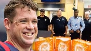 NFL's Jon Weeks Sends Whataburger To 1st Responders, 100s Of Burgers & Tenders!