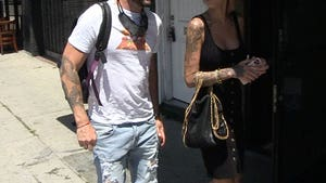 Brian Austin Green on Lunch Date with Australian Maxim Model Tina Louise