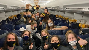 Michigan Women's Basketball Team Made Scary Emergency Landing After NCAA Loss
