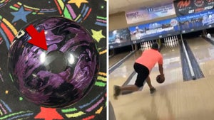 Man Bowls Perfect Game Using Ball Filled With Late Father's Ashes