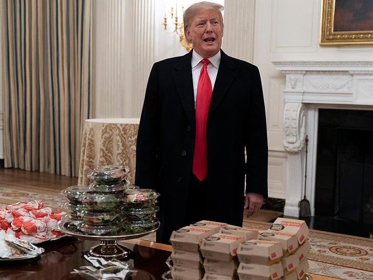 Donald Trump -- Food Photos