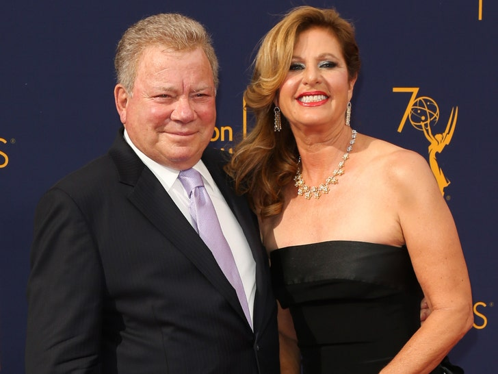 William & Elizabeth Shatner -- Happier Times