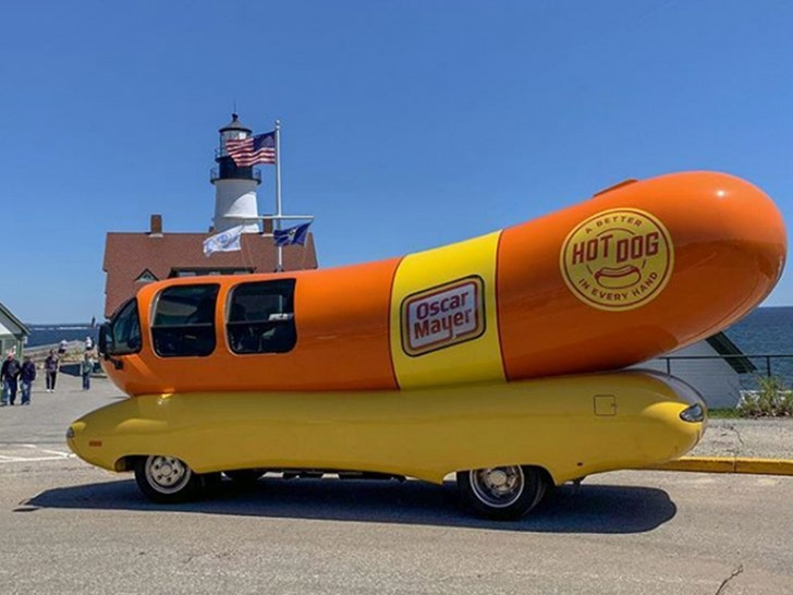 Oscar Mayer Weinermobile On The Road