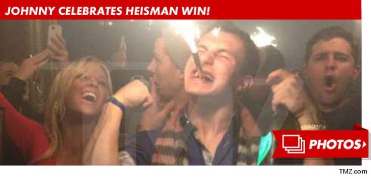 Johnny Manziel Celebrates Bowl Win
