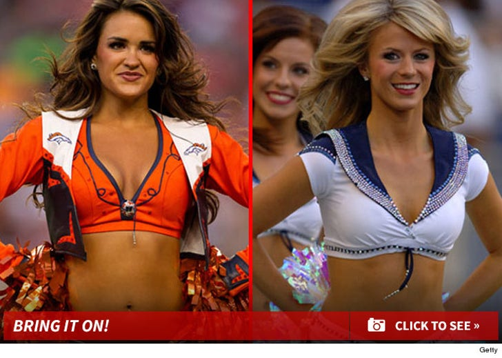 Broncos vs. Seahawks Cheerleaders: Who'd You Rather?