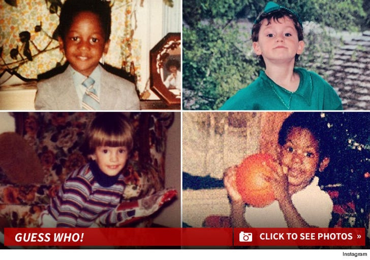 Sports Stars Kid Photos -- Guess Who!