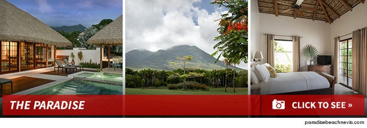 The Paradise Beach Resort in Nevis