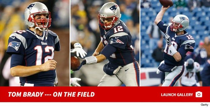 Tom Brady -- On The Field