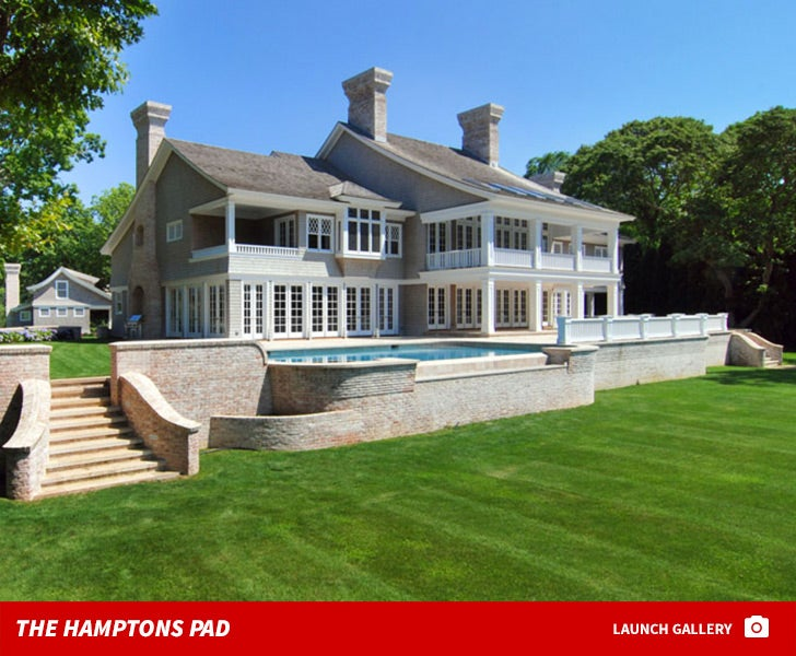 Jay and Bey's New Hamptons Home