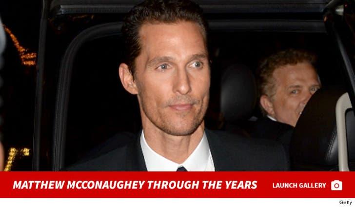 Matthew McConaughey Through The Years