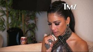 Nicole Scherzinger: The Backstage Cry Sesh ... Caught On Tape! [Video]