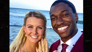 Robert Griffin III and Wife Play Volleyball in Miami After