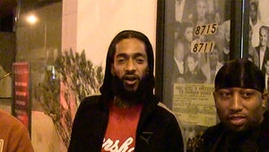 Nipsey Hussle Trashes Anti-Diddy Newscasters, 'We Gon' Beat Yo Ass!'