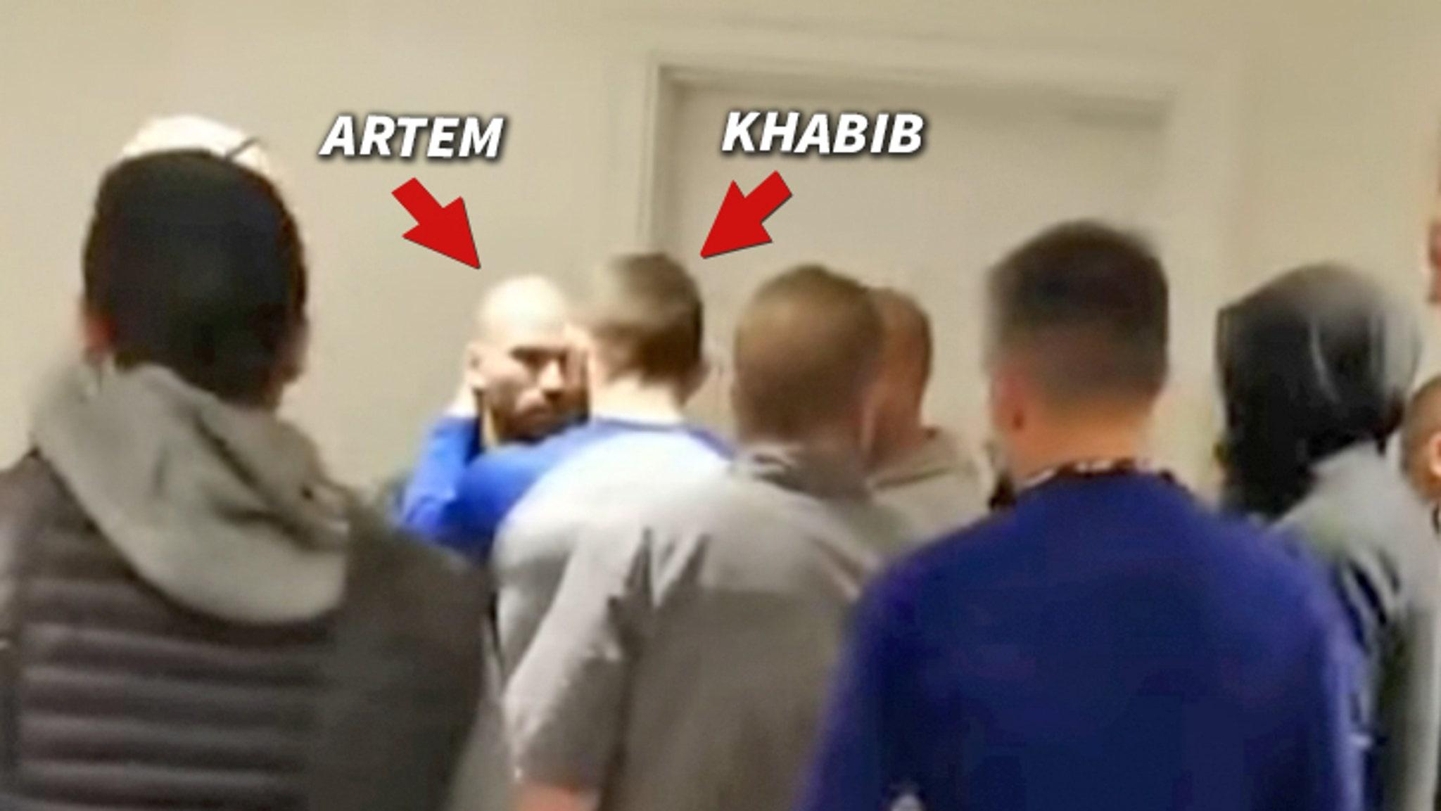 UFC's Khabib Nurmagomedov Confronts Conor McGregor's BFF in