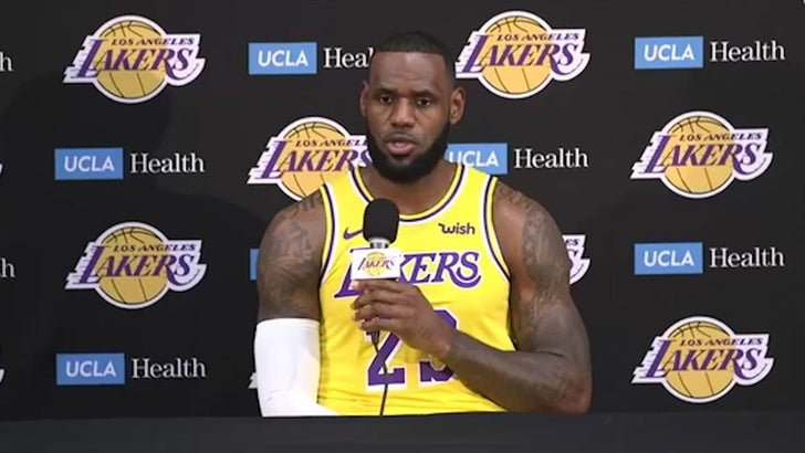 separation shoes a9f53 4a244 LeBron James Says He Didn't Join Lakers to Be Closer to ...