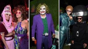 George Clooney, Rande Gerber Host Casamigos Halloween Party