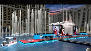NFL Holding 2020 Draft Inside Bellagio Fountains, Players Arriving In Boats!