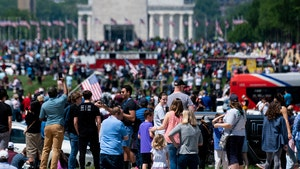 Crowds Gather at D.C.'s National Mall, ATL's Piedmont Park for Blue Angels