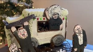 Conor McGregor's Bus Attack Gets Gingerbread Treatment From UFC's Angela Hill