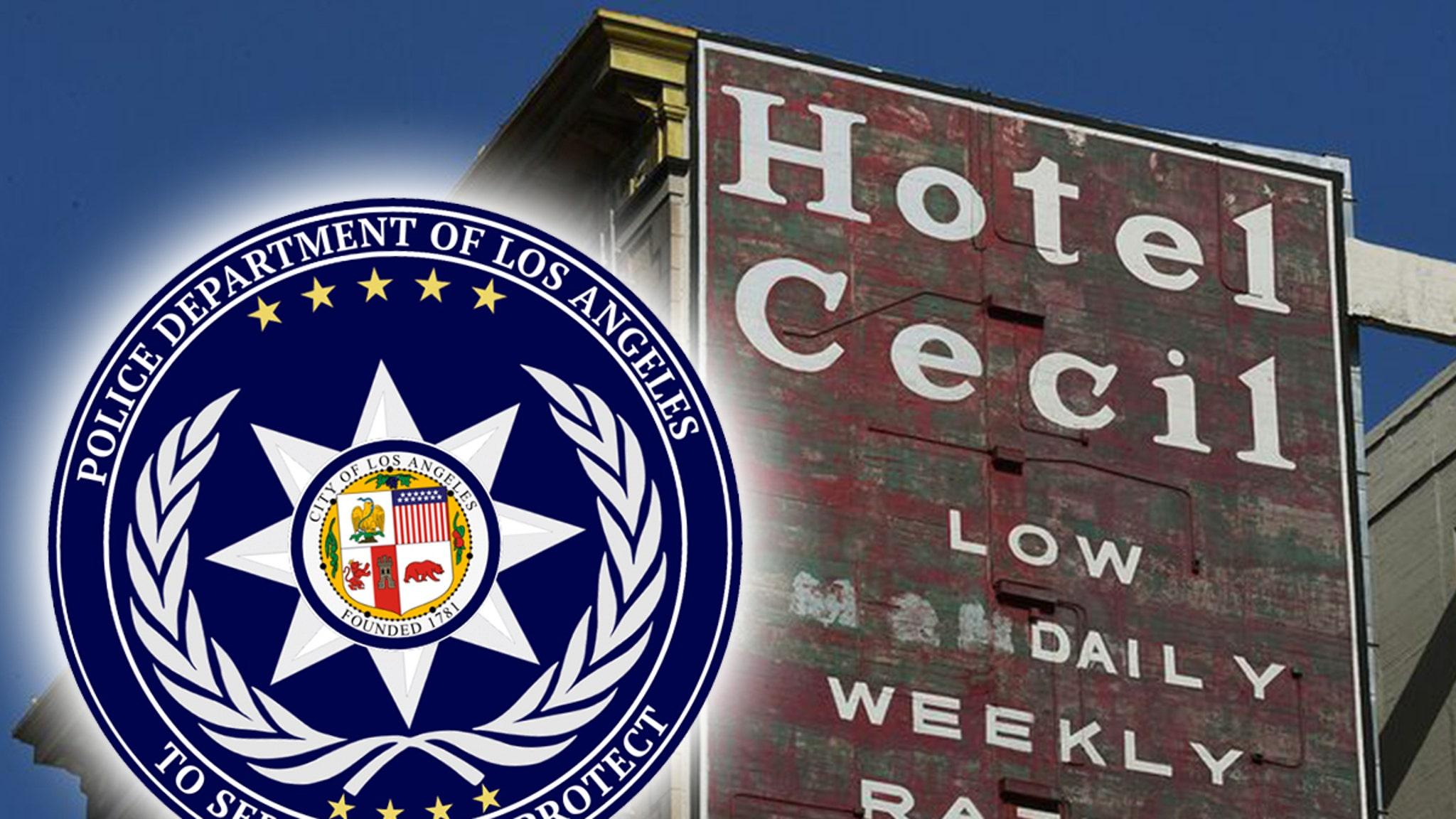 « Исчезновение в отеле Сесил » дает полиции Лос-Анджелеса странные советы