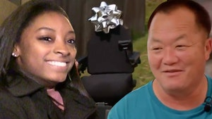 Simone Biles Surprises Olympics Teammate Suni Lee's Father W/ New Wheelchair