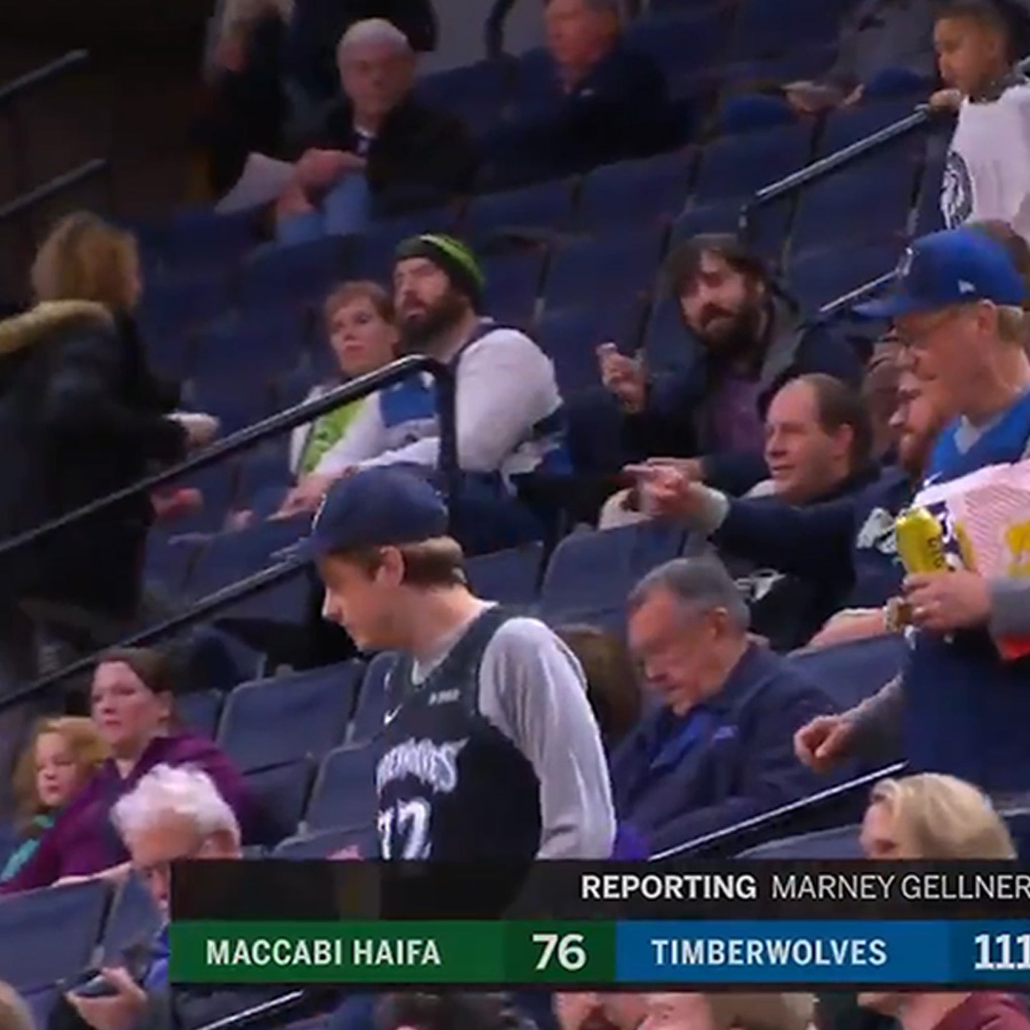 Timberwolves Hook Up Fans With Epic Seat Upgrade, Get Out Of The Nosebleeds!