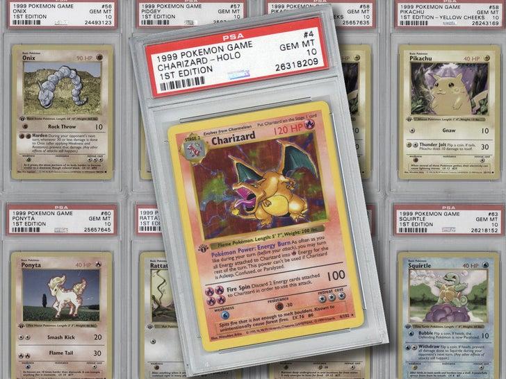 1999 Pokemon 1st Edition Complete Set