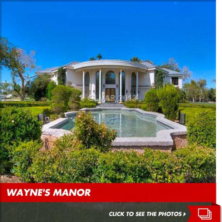 Wayne Newton's Famous Vegas Compound for Sale