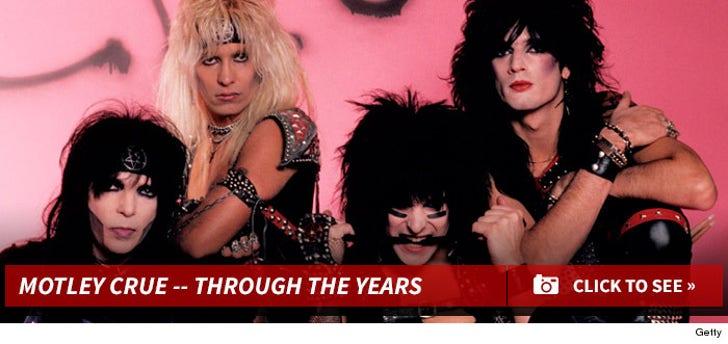 Motley Crue -- Through the Years