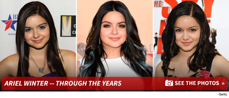 Ariel Winter -- Through The Years