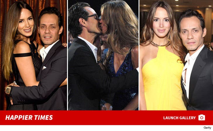 Marc Anthony and Shannon De Lima -- Before the Split