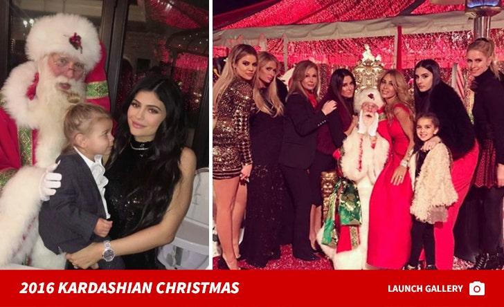 Kardashian Christmas Party