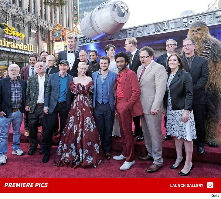 'Solo: A Star Wars Story' Hollywood Premiere