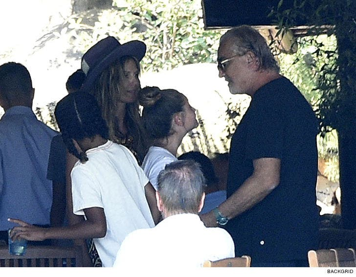 Heidi Klum's Daughter Leni Meets With Biological Father
