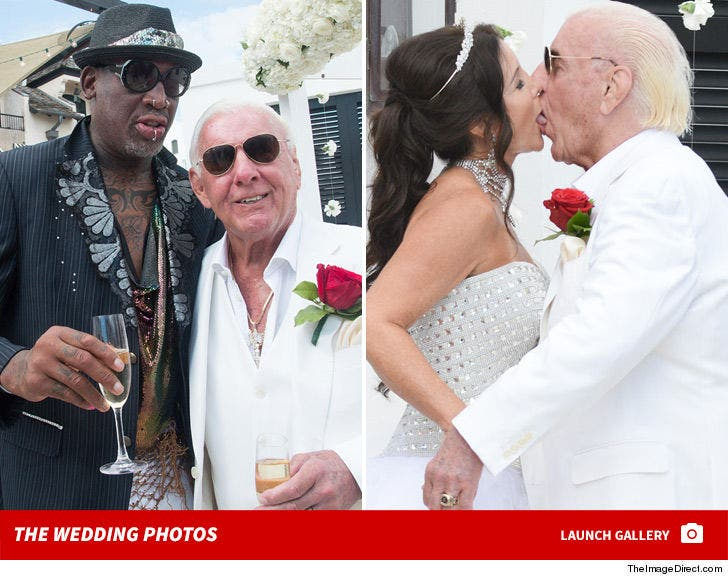Ric Flair Wedding Photos ... Woooo!
