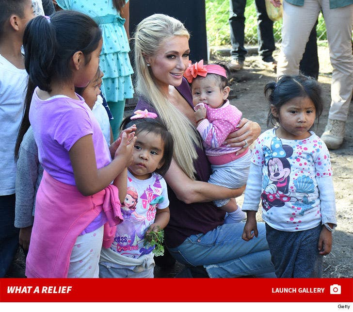 Paris Hilton -- What a Relief