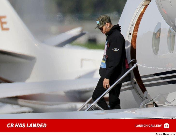 Chris Brown Has Landed