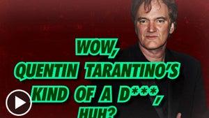 Quentin Tarantino -- A Real Q & A-Hole