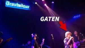 'Stranger Things' Star Gaten Matarazzo's Band Rocks The Troubadour in L.A.