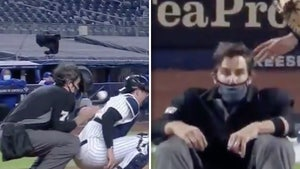 Yankees' Gerrit Coles Drills Ump In Face With 99-MPH Fastball, Scary Video