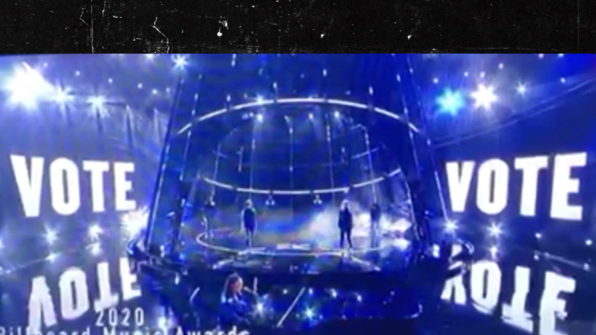 Demi Lovato's 'Vote' Message Muzzled By NBC During Billboard Awards